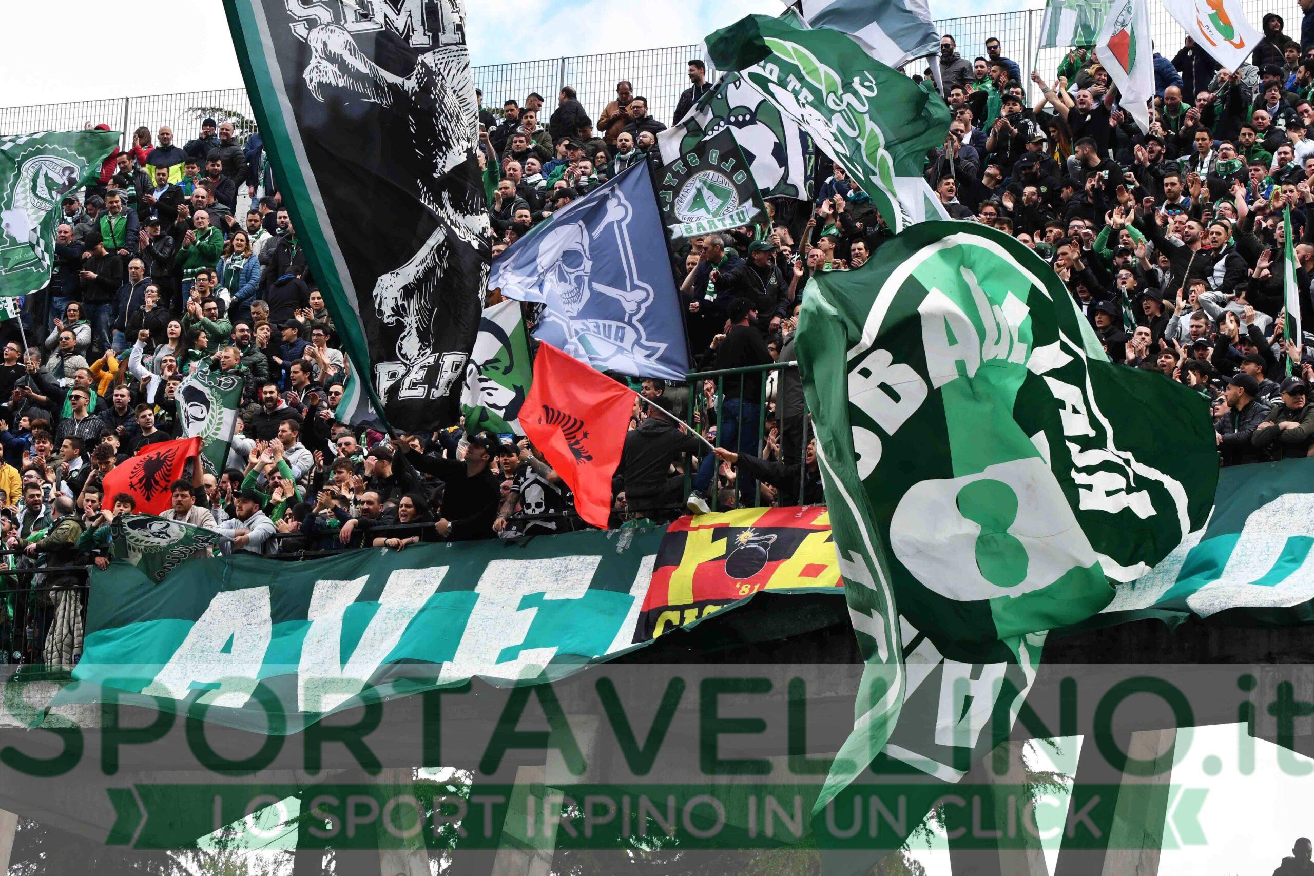 Avellino Calcio curva sud